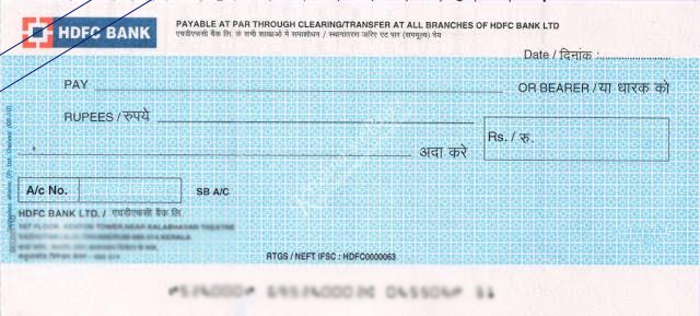 what is account payee cheque
