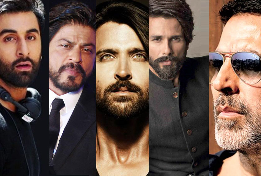 10 Bollywood Superstars with Trendsetting Beard Styles