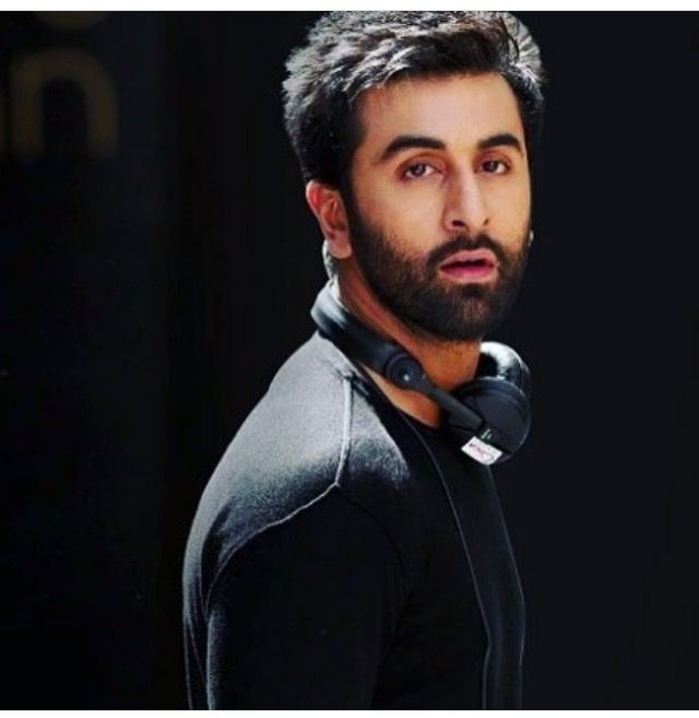 Ranbir Kapoor in Messy Hair and Patch Beard