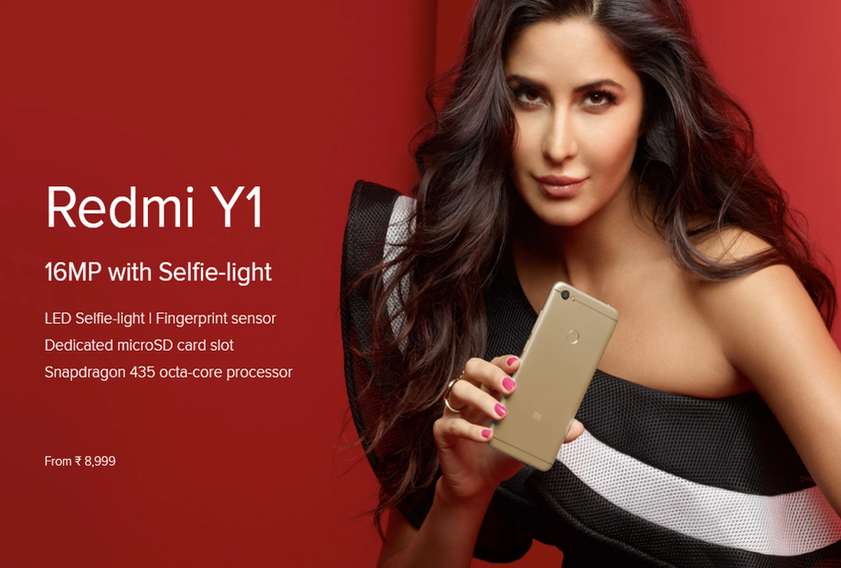 Xiaomi Launches Redmi Y1 and Redmi Y1 Lite: LED Selfie-light Smartphones