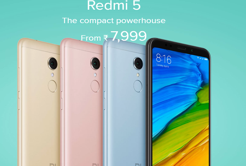 Xiaomi Redmi 5 – Features, Specifications and Price in India
