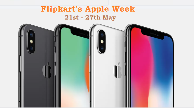Apple Week on Flipkart: Discounts On iPhone X, iPhone 8 And More
