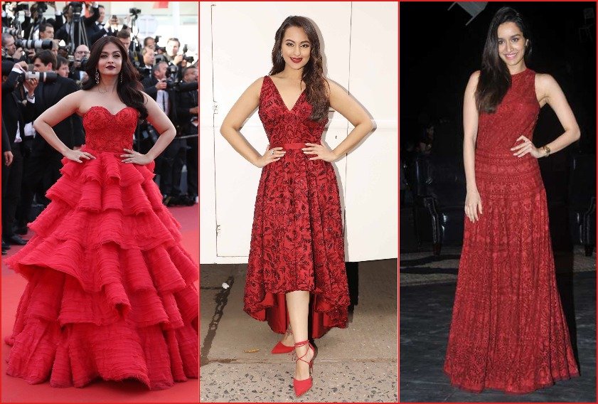 The red dress effect: 16 B-town actresses spot in their best dresses and gowns in red