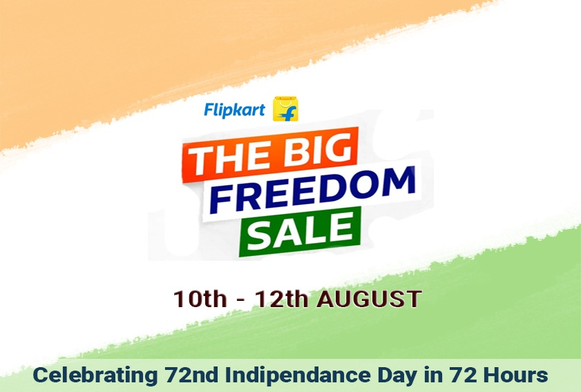 Flipkart Big Freedom Sale 2018