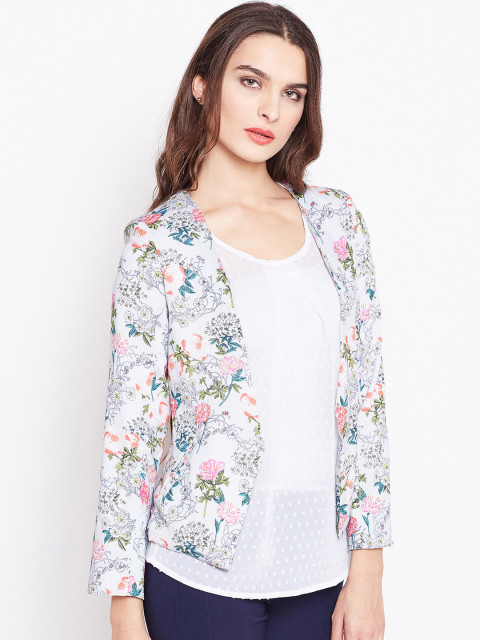 Floral Blazers for Women