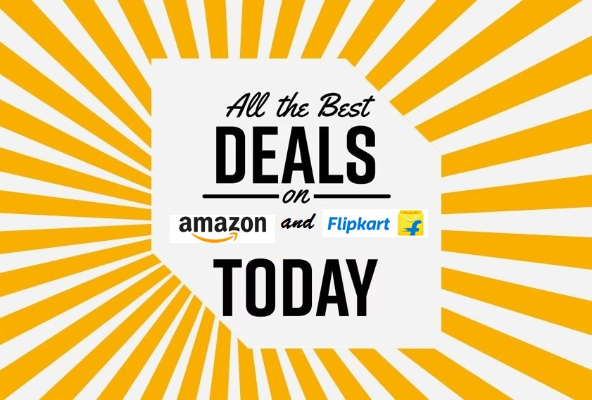 Best Deals of the Day from Amazon and Flipkart