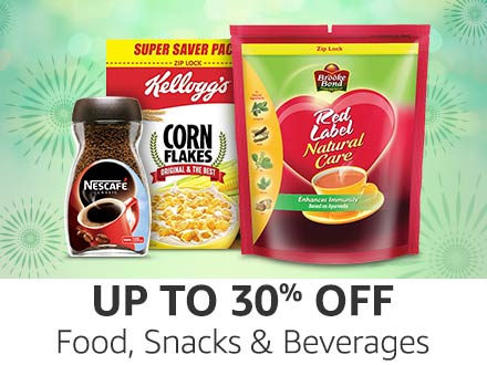 Amazon Super Value Day Sale: Up to 30% Off on Food, Snacks, And Beverages