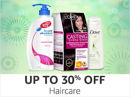 Amazon Super Value Day Sale: Up to 30% Off on Haircare