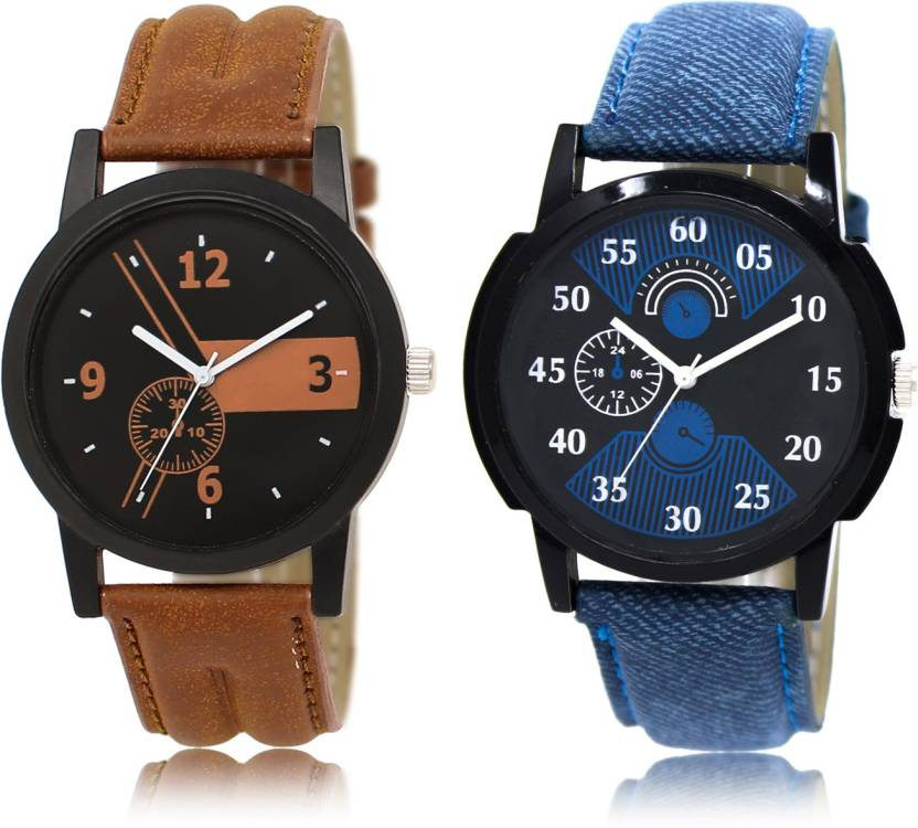 New Stylish Attractive Combo Watch - For Men