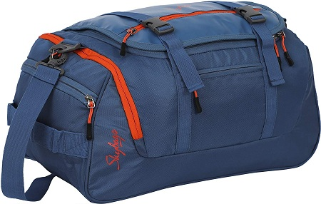 Skybags Polyester 49 cms Blue Travel Duffle