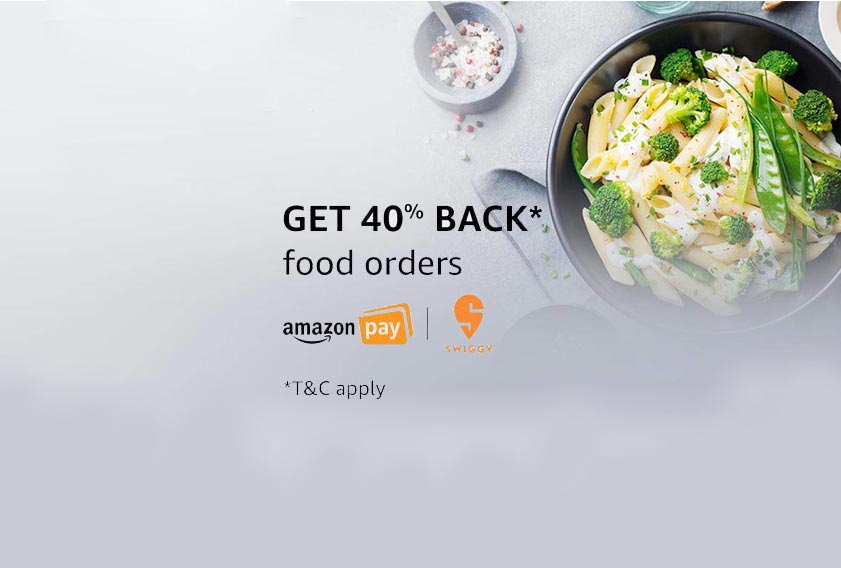 Amazon Pay Food Order Offers: Cashback, Disocunts & Promo Codes