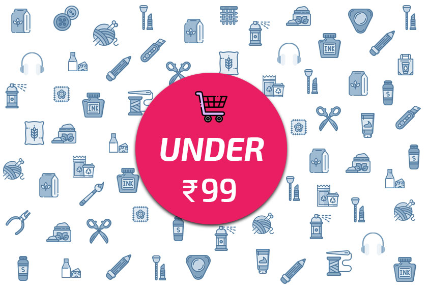 Top 10 Amazing Products You Can Shop Online under Rs. 99/-