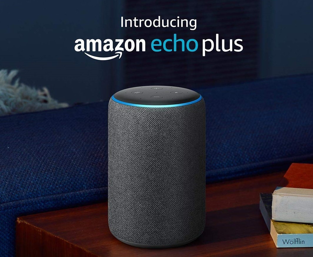 Buy All-new Echo Plus (2nd gen) Online – Premium sound with a built-in smart home hub-Black