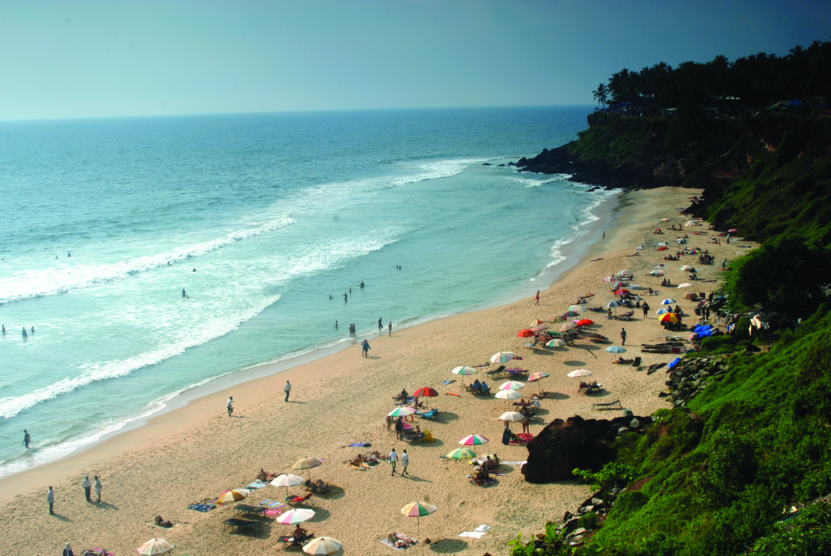 Best Beaches in Kerala - Varkala Beach