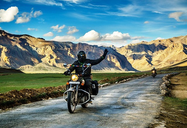Bike Trip from Manali to Leh