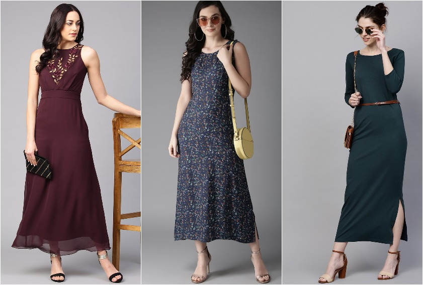 10 Best Maxi Dresses You Can Buy on Myntra