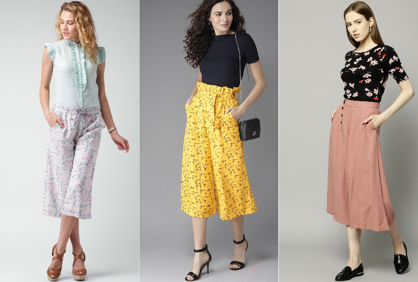 Wear Culottes like a Pro: 10 Best Picks from Myntra