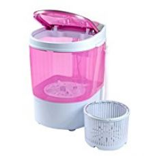 DMR 3 kg Portable Mini Washing Machine with Dryer Basket  (DMR 30-1208, Pink) for Rs. 3,899