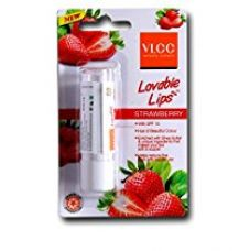 VLCC Lovable Lip Balm Strawberry With SPF 15, 4.5gm for Rs. 125