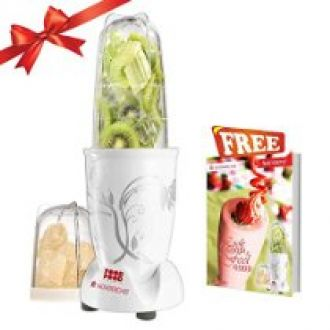 Wonderchef 400 Watt Nutri-Blend  with Free Servin Glass Set (White) for Rs. 2,299