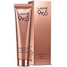Lakme 9 to 5 Weightless Mousse Foundation, Rose Ivory, 29 g for Rs. 430