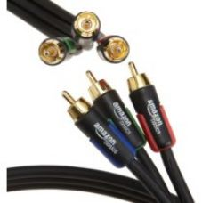 AmazonBasics RCA Component Video Cable - 6 Feet (1.8 Meters) for Rs. 599