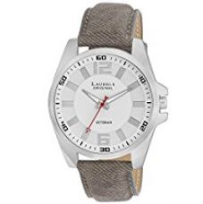 Buy Laurels Gatsby Analog White Dial Men's Watch - Lo-Gt-202 from Amazon
