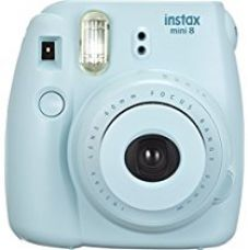 Fujifilm Instax Mini 8 Instant Point and Shoot Camera (Blue) for Rs. 3,499
