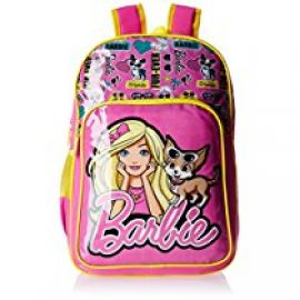 Buy Barbie Pink and Yellow Children's Backpack (Age group :8-12 yrs) from Amazon