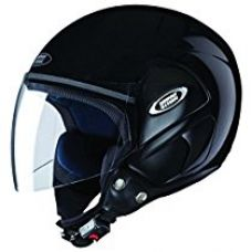 Buy Studds Cub SUS_COFH_BLKL Open Face Helmet (Black, L) from Amazon
