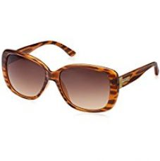 Buy Fastrack Oversized Sunglasses (Brown) (P253BR1F) from Amazon