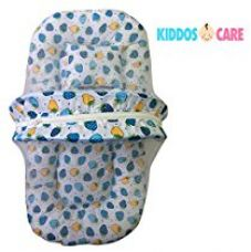 KiddosCare Toddler Mattress with Mosquito Net for Baby (Blue) for Rs. 422