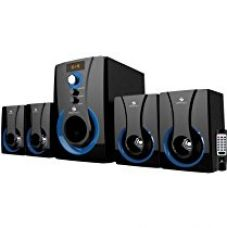 Buy Zebronics 4.1 Multimedia SW3490 RUCF Wired Home Audio Speaker(Black, 4.1 Channel from Amazon