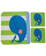 Buy Fly Frog Dolphin Printed Mouse Pad And Coasters for Rs. 359
