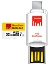Strontium 32 GB Nitro 466X UHS-1 microSDHC Memory Card With OTG Card Reader for Rs. 945