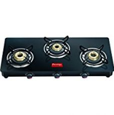 Prestige Marvel Glass-Top 3 Burner Gas Table for Rs. 4,250