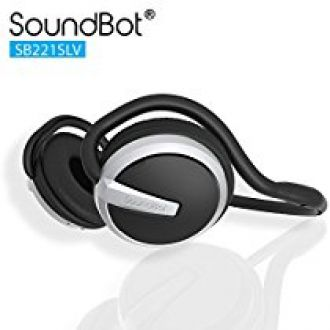 Soundbot SB221-BLK/BLK Bluetooth Headphones (Black/Black) for Rs. 1,618