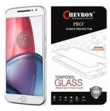 Chevron Tempered Glass For Moto G Plus 4th Gen for Rs. 299
