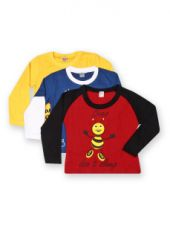 Get 50% off on GKIDZ Boys Pack of 3 Printed T-shirts