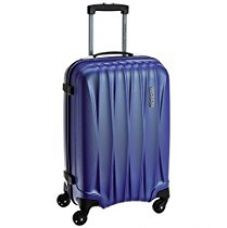 American Tourister Polycarbonate 55 cms Midnight Blue Carry-On (38W (0) 11 001) for Rs. 3,528