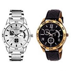 ADAMO Analogue Multi_Color Dial Men's Watch(10937SL02) for Rs. 589