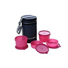 Buy Signoraware Executive Lunch Box with Bag Pink from Amazon