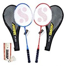 Buy Silver's SIL-970 COMBO2 Badminton Kit from Amazon