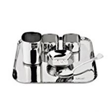 Buy Tuff Line Stainless Steel 6 Pc Square Dinner Set from Amazon