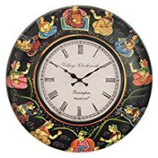 RoyalsCart Painting Analog Wall Clock for Rs. 999