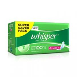 Buy Whisper Ultra Sanitary Pads - XL Wings (30 piece Pack) from Amazon