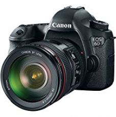 Canon EOS 6D 20.2MP Digital SLR Camera (Black) + 24-105mm IS USM Lens Kit for Rs. 141,995