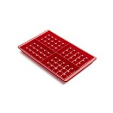 Buy Okayji Silicone Waffle Mould, Red from Amazon