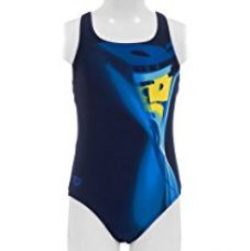 Arena Muller Textile Swimsuit, Youth 8 Years (Navy/Strong Blue) for Rs. 1,880