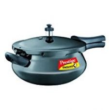 Prestige Deluxe Plus Junior Induction Base Hard Anodized Pressure Handis, 4.8 Litres, Black for Rs. 2,400